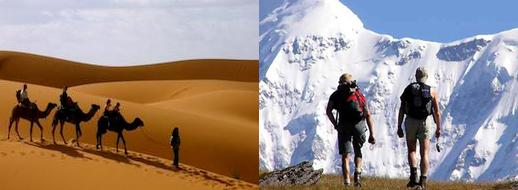 TREKKING/HIKING TRAVEL