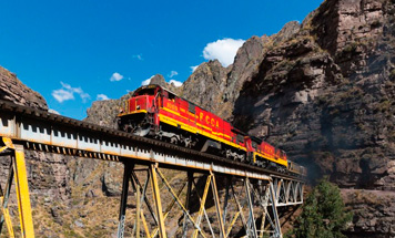Rail enthusiasts Peru Tour
